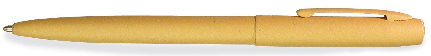 Fisher MilitaryDesert Tan Ballpoint Pen