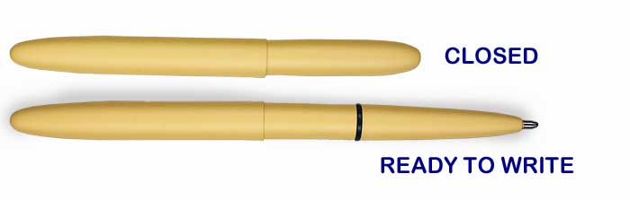 Fisher Bullet Desert Tan Ballpoint Pen