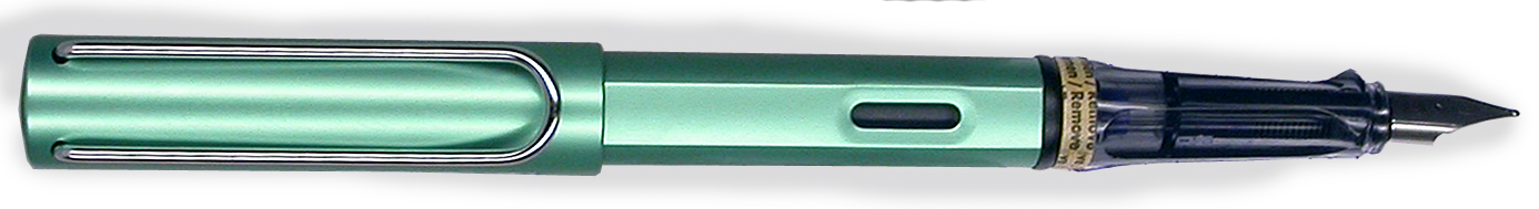 Lamy Alstar Bluegreen Fountain pen Limited Edition 2014